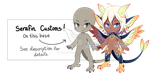 [CLOSED] Serafin Custom Opening 3 by dracooties