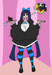 Commission Hsaibot Stocking Devil Cake BE by Da-Fuze