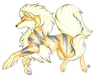 Arcanine by CaptainMorwen