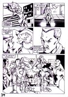 Spider-Man comic book page 34 by JulianPetrov