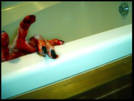 Suicide Series - Bath by Red--Roses