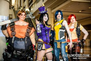 Borderlands 2 Group Megacon 2013 by Kikiama
