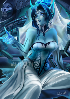 Ghost Bride Morgana [NSFW Optional] by Felielle