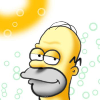 Homer Brush by locomonk