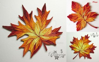 Autumn leaves by pinterzsu