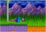 Sonic Mania Styled Marble Zone by weegeeguy01