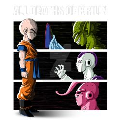 All deaths of Krilin by albertocubatas