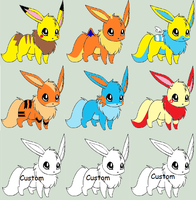 Eevee Adopts|2 points|OPEN by Cuteypup28