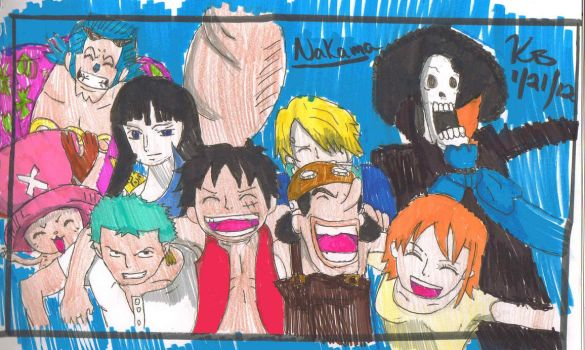 As Long as I have my Nakama.... by pikachupokemon123