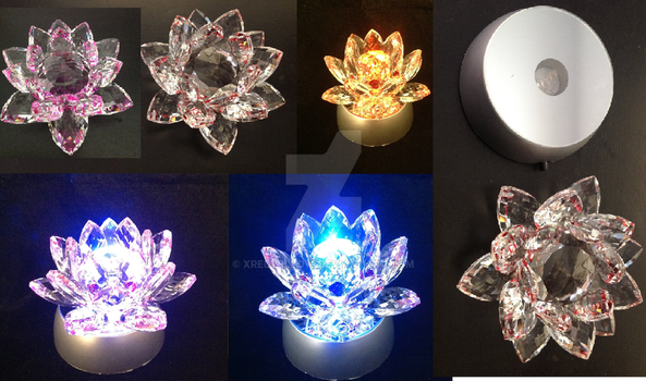 The Silver Crystal Flower Replica from Sailor Moon by xRedWillow