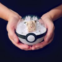 Cleafariy Ice Cave - Poke Ball Terrarium by TheVintageRealm