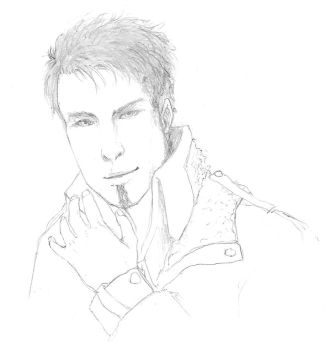 Sketch Tommy Karevik by Lucrai-Arts