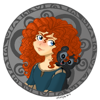 Merida by mistressmariko