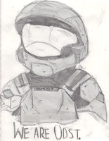 .We are ODST. by hazeness