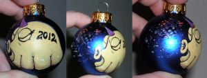 2012 New Year Ornament by askoi