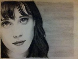 Zooey Deschanel by Feather3111