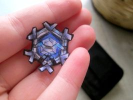 Paperchild 722.Pokemon#615 - Cryogonal