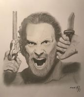 Rick Grimes by Proofallmighty