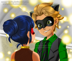 Adrien chat by NancySauria