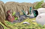 Freelance - Dino Project Baby Maiasaura by DR-Studios