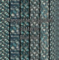 Marguerite Beausoleil Blue Two by MargueriteBeausoleil