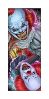 No, My Name Is Pennywise! by ZombieTheArtist