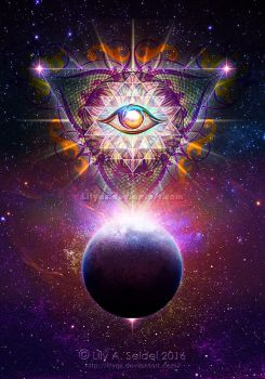 Cosmic Eye by Lilyas