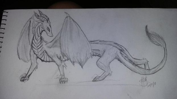 dragon by Lilathecat17