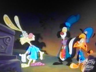 Bonkers and his friend moments 49 by Wakko2010