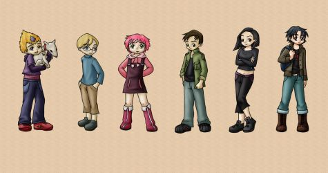 Code Lyoko Gang by Marilia-Barbosa