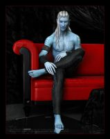 The Red Couch: Nazul by Mavrosh