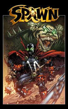 Spawn and Clown by AlonsoEspinoza