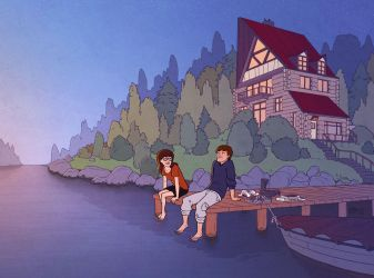 Daria - The Lake by eve-bolt
