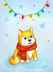 Winter Dog by Feyjane