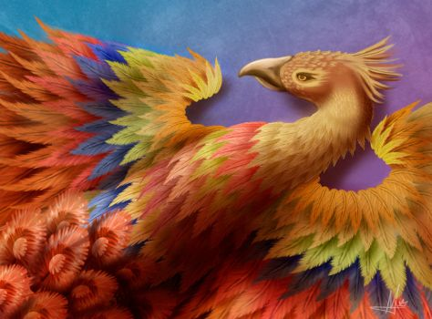 The Phoenix of Imagination by EonRoxas