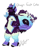 Dragon Forest Cake Cinnadog final design i swear by BuyGoldBYE