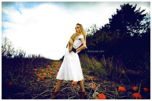 Dorothy in Pumpkinland by MissHeroin