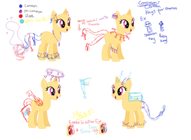 Key tails /semi-open MLP species / NEW UPDATE! by saeran-ch0i