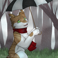 Rainy Days by MidsummerSolstice