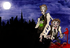 Dr jekyll and Mr Hyde by Rather-Drawn