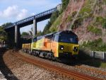Colas Rail 70807 at Teignmouth by The-Transport-Guild