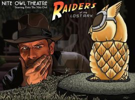 Raiders of the Lost Ark by monsterartist