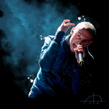 Chester Bennington by AlessiaPelonzi