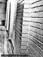 another brick in the wall by Avey-Cee