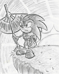 Sonic the Airbender by sykog77