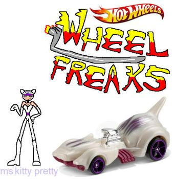 wheel freaks character ms kitty pretty by NickMaster64