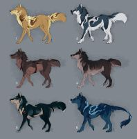 Points / Paypal Canine adopts - OPEN by Nereiix