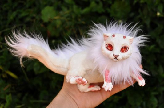Albino baby dragon spirit- SOLD by LisaToms