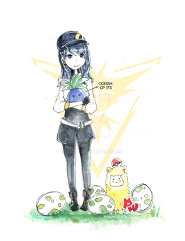 Pokemon Go Trainer by xisue