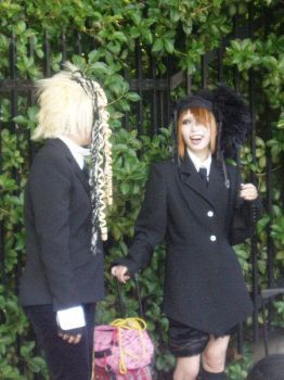 Goths in Harajuku by Suiki